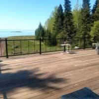 Deck chair view